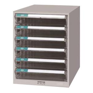 TANKO/天钢 文件箱(桌上型) A4G-106 W260×D346×H368mm 6个透明抽屉 1个