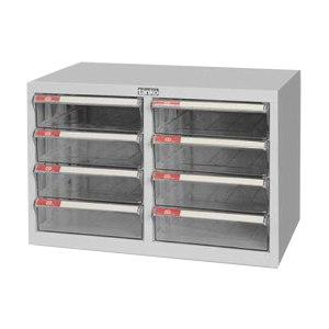 TANKO/天钢 文件箱(桌上型) A4H-208 W542×D346×H380mm 8个透明抽屉 1个