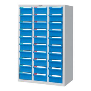 TANKO/天钢 零件箱 CAH-330-1 W600×D283×H880mm 30个蓝色抽屉 1个