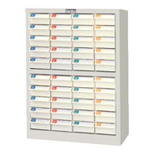 TANKO/天钢 零件箱 CDH-440-1 W474×D230×H605mm 40个白色抽屉 1个