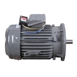 TECO/东元 立式刹车马达 3.7KW-4P-B5 电压三相220V,4P,功率3.7KW,安装方式B5 1台