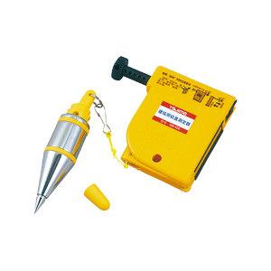 TAJIMA/田岛 铅直测定器附重锤 1009-0054 400g 黄色,线长4.5M 1个