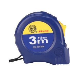 GREATWALL/长城精工 66-5系列双制动带扣钢卷尺 GW-011543 3m×16mm 公制 1把
