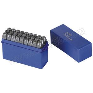 GREATWALL/长城精工 字母钢号码 GW-428468 12.5mm 27件(A~Z,&) 1套