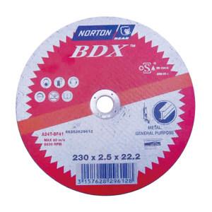 NORTON/诺顿 BDX通用金属切割片 AB703 125x2.5x22.2 25片 1盒