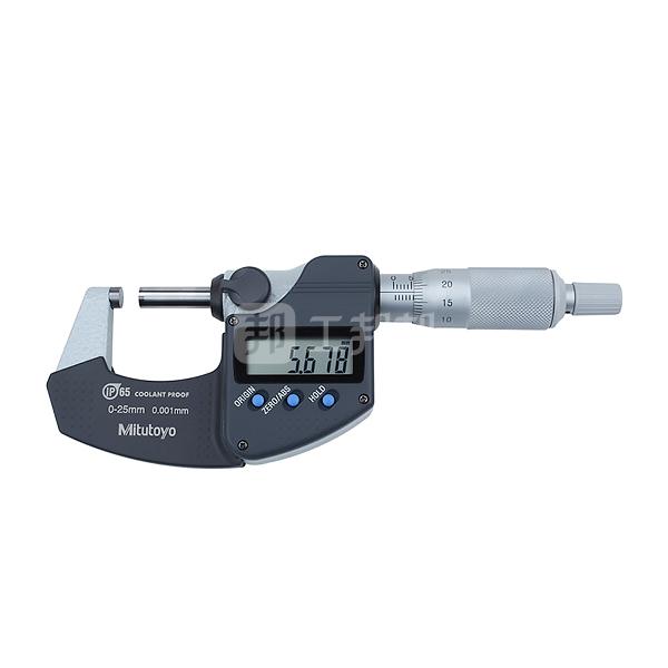 MITUTOYO/三丰 IP65防冷却液数显千分尺-不带数据输出 293-240-30 0-25mm 不代为第三方检测 1台