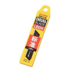 TAJIMA/田岛 J型标准型替刃 1102-0024 22MM 塑料盒(1片黑刃+9片银刃) 1组