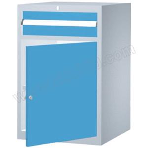 ZKH/震坤行 重型工具柜FLA DCH-FL0850A 564×572×850mm  面板蓝色 柜体灰色 1组