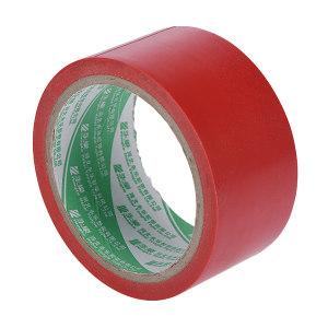 YONGLE/华夏永乐 PVC地面警示划线胶带 JS140 红色 48mm*18m 1卷