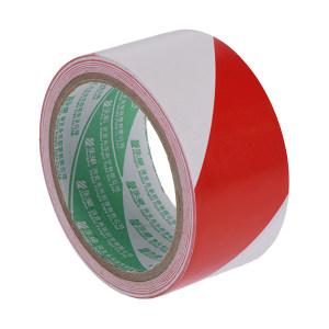 YONGLE/华夏永乐 PVC地面警示划线胶带 JS140 红白 48mm*18m 1卷