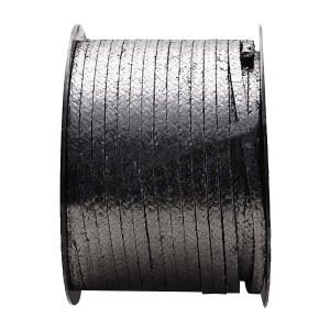 TEMAC/太美 石墨盘根 6100 20*20mm 黑色    20*20mm 1卷