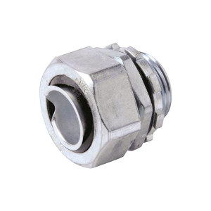 KSS/凯士士 0625金属软管固定头(盒接头) NBG-05 50个 1包