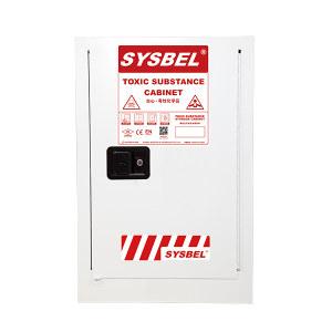 SYSBEL/西斯贝尔 毒性化学品安全储存柜 WA810120W 12Gal/45L 单门手动 1台