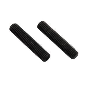 ZKH/震坤行 内六角平端紧定螺钉 碳钢 发黑 M8x10 M8×10 1包