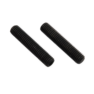 ZKH/震坤行 内六角平端紧定螺钉 碳钢 发黑 M8x16 M8×16 1包