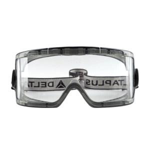 DELTA/代尔塔 GALERAS透明PC防化护目镜 101104 防雾防刮擦 1副