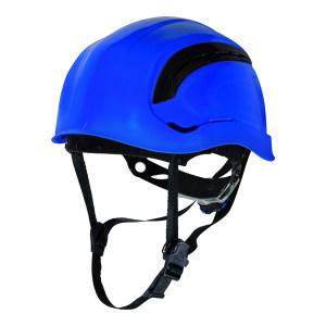 DELTA/代尔塔 GRANITE系列ABS安全帽 102202 蓝色(BL) 织物内衬 含下颏带 1顶