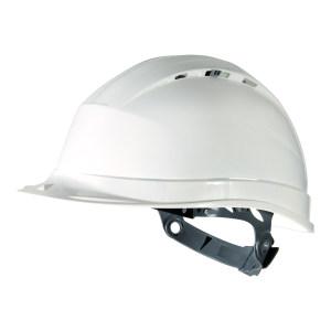DELTA/代尔塔 QUARTZ4系列PP安全帽 102009 白色(BC) 8点式织物内衬 不含下颏带 1顶