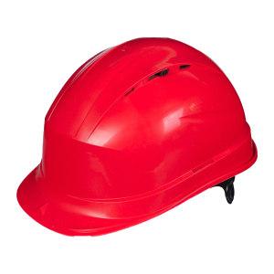 DELTA/代尔塔 QUARTZ1系列PP安全帽 102012 红色(RO) 8点式LDPE内衬 不含下颏带 1顶