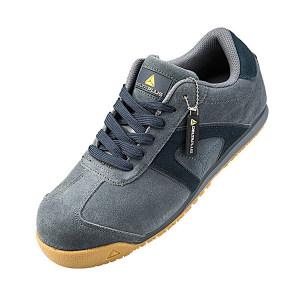 DELTA/代尔塔 D-SPIRIT系列低帮翻毛皮安全鞋 301344 46码 灰色 防砸防静电防刺穿 1双