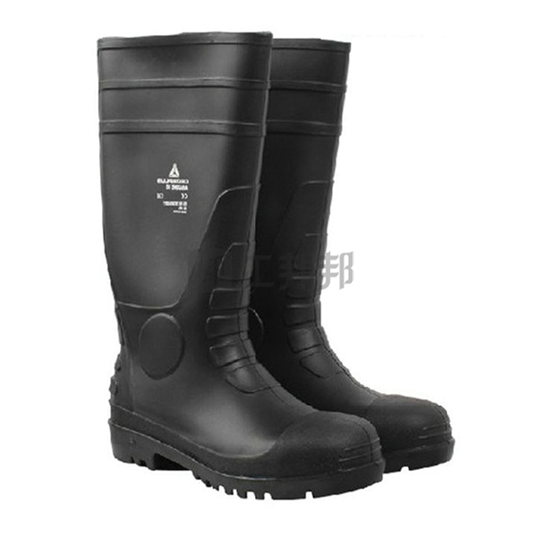 DELTA/代尔塔 AMAZONE PVC高帮安全防化靴 301407 42码 防砸防静电防刺穿耐酸碱耐油 1双