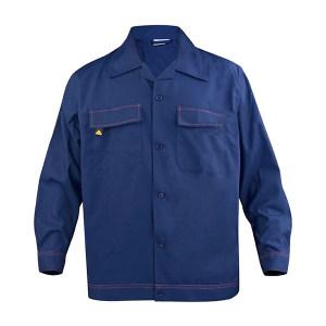 DELTA/代尔塔 马克2经典系列全棉防静电套装 405168 2XL 蓝色 1套