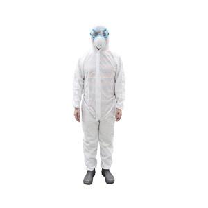 DELTA/代尔塔 DT215限次型无纺布防化服 406215 L 白色 1件
