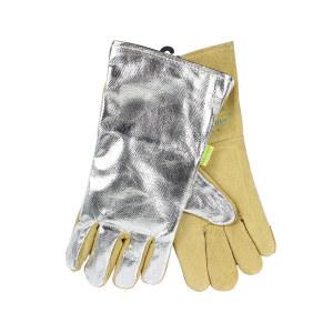 WELDAS/威特仕 镀铝隔热焊接手套 10-2385 XL 35cm 1副