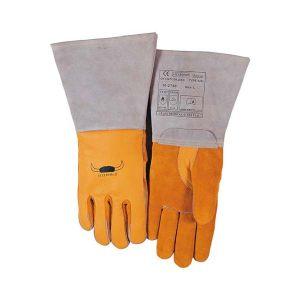 WELDAS/威特仕 牛青皮高档焊接手套 10-2750 L 37cm 1副