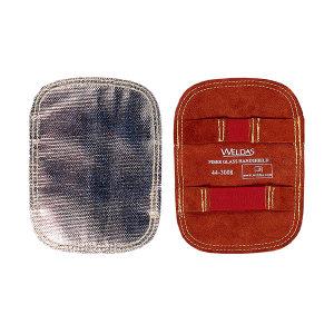 WELDAS/威特仕 反射铝耐高温玻璃纤维护手盾 44-3008 15*20cm 1只