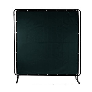 WELDAS/威特仕 墨绿色焊接防护屏 55-7468 1.74m高*2.34m宽 1张