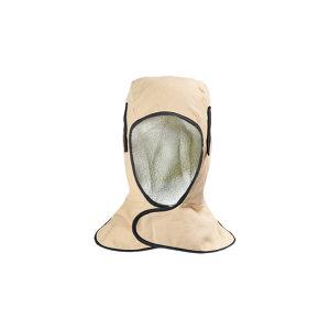 WELDAS/威特仕 米黄色护颈型工业防寒帽 23-7711 均码(L) 米黄色 1只