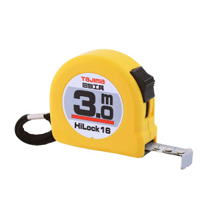 TAJIMA/田岛 HI-LOCK型卷尺 1001-0286 3.0M×16mm 手动锁定 1把