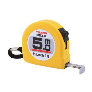 TAJIMA/田岛 HI-LOCK型卷尺 1001-0287 5.0M×16mm 手动锁定 1把