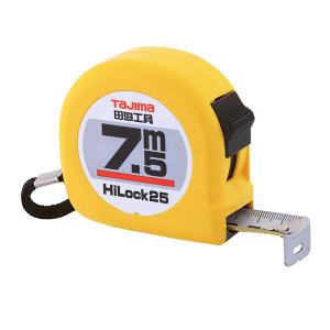 TAJIMA/田岛 HI-LOCK型卷尺 1001-0036 7.5M×25mm 手动锁定 1把