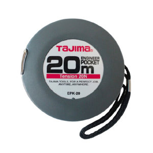 TAJIMA/田岛 便携式长钢卷尺 1002-0115 20M×10mm 盒式 1把