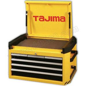 TAJIMA/田岛 6抽屉专业级工具车(6抽屉)400A 3001-1351 724×470×420mm 黄黑色 6抽屉 可与EBR-400叠加使用 1只