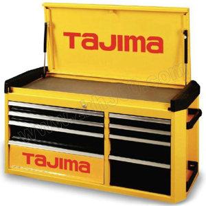 TAJIMA/田岛 8抽屉专业级工具车(8抽屉)700A 3001-1353 1091×470×564mm 黄黑色 可与EBR-700叠加使用 1只