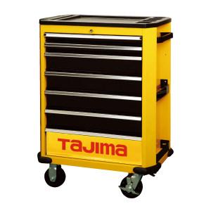 TAJIMA/田岛 7抽屉专业级工具车(7抽屉)400 3001-1352 724×470×867mm 黄黑色 1台
