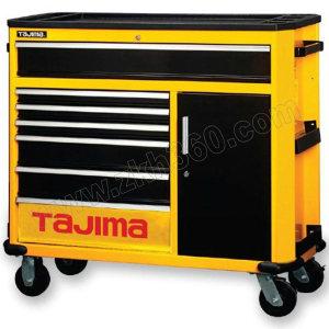 TAJIMA/田岛 9抽屉专业级工具车(9抽屉)700 3001-1354 1091×470×867mm 黄黑色(外观为7抽屉+1柜门) 1台