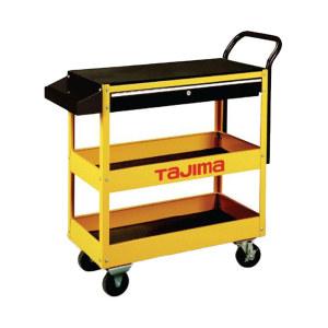 TAJIMA/田岛 三层多用途工具车300 3001-1350 935×395×845mm 黄黑色 1台