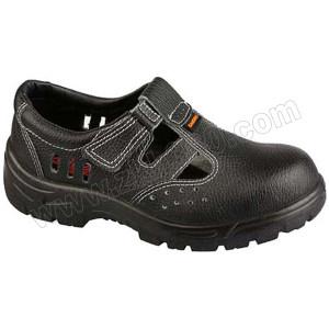 SAICOU/赛固 牛皮夏季安全鞋 SC-8801-4 42码 黑色 防砸 1双