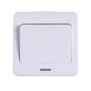 SIEMENS/西门子 远景Vista一位单控雅白面板开关 5TA0201-1CC1 10A 1个