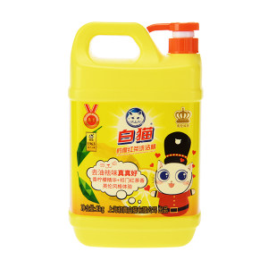 BAIMAO/白猫 柠檬红茶洗洁精 6901894121694 2kg 1瓶