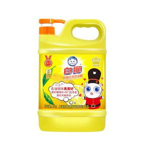 BAIMAO/白猫 柠檬红茶洗洁精 6901894121687 1.5kg 1瓶