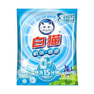 BAIMAO/白猫 全效去渍+亮白洗衣粉 6901894113217 500g 1袋