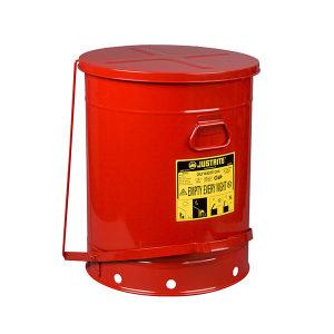JUSTRITE/杰斯瑞特 油渍废品罐 09700 80L 红色 1个
