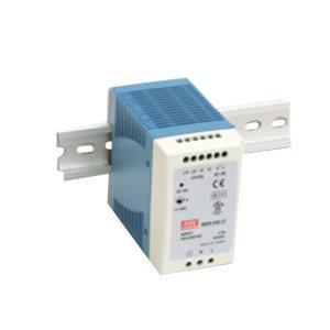 MW/明纬 MDR-100系列100W单组输出导轨型工业电源 MDR-100-24 1个