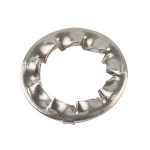 ZKH/震坤行 DIN6798 内锯齿锁紧垫圈-J型 不锈钢304 A2-100 本色 210440004000000000 φ4 2500个 1包