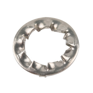 ZKH/震坤行 DIN6798 内锯齿锁紧垫圈-J型 不锈钢304 A2-100 本色 210440006000000000 φ6 2500个 1包